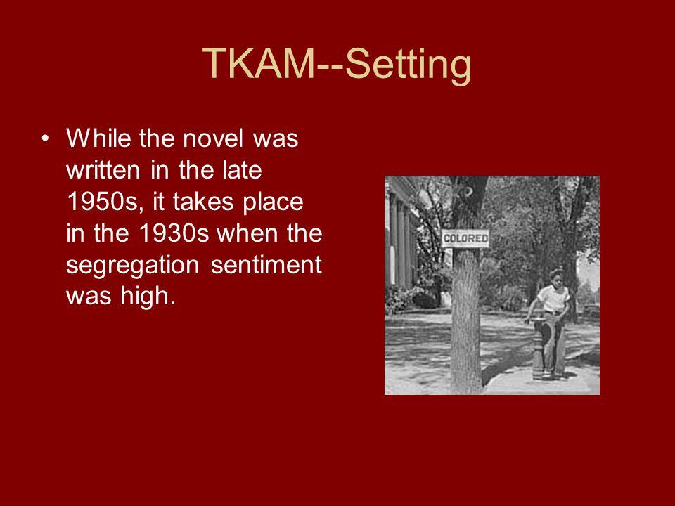when was tkam written