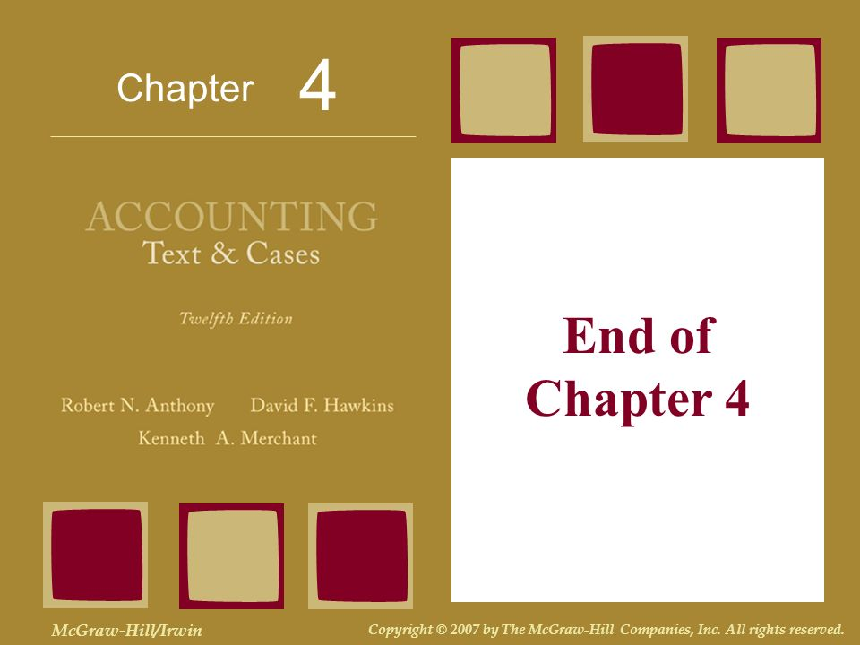 4 End of Chapter 4