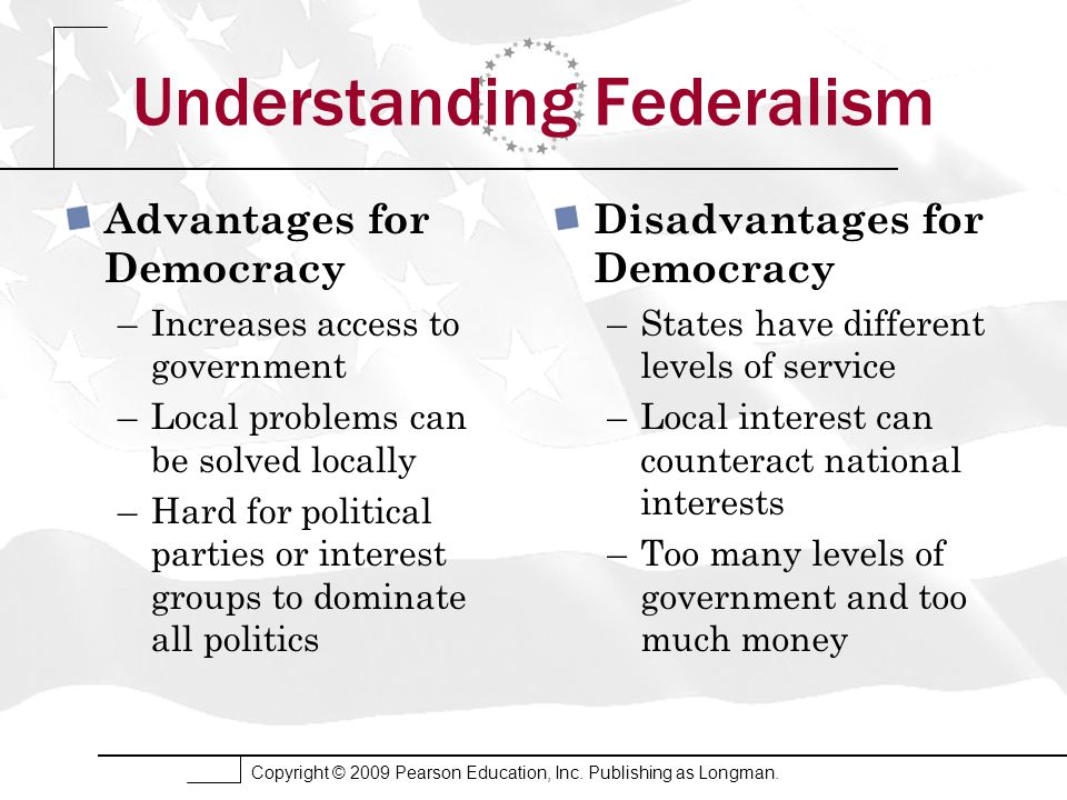 Federalism Chapter 3 Edwards, Wattenberg, and Lineberry ...