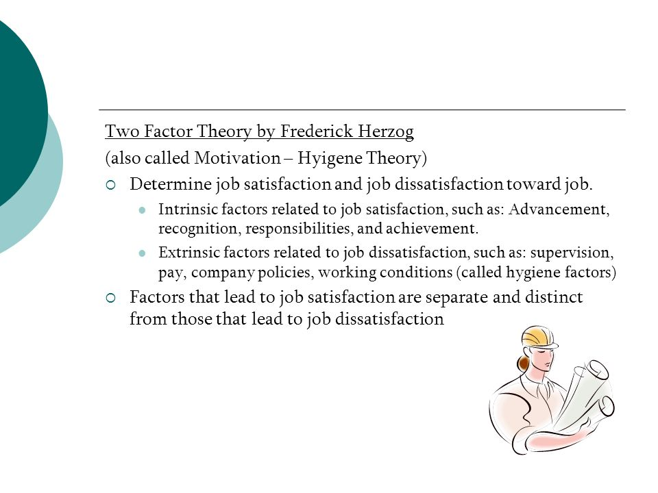 Two Factor Theory by Frederick Herzog