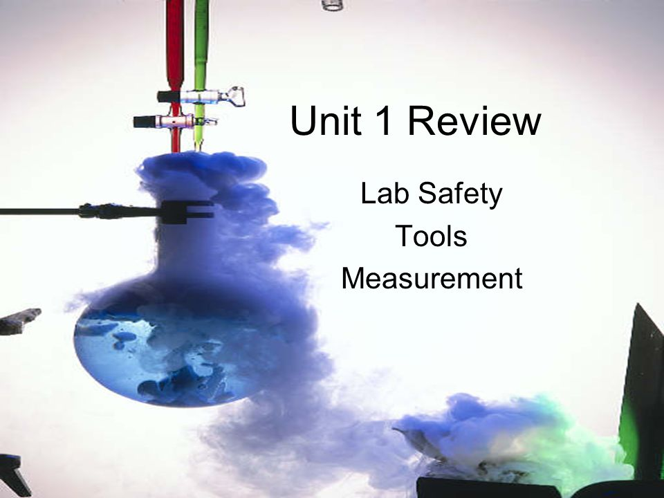 Lab Safety Tools Measurement