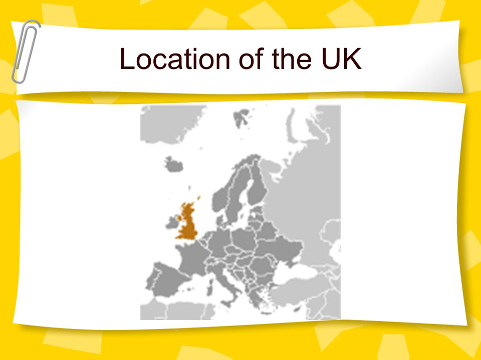 Location of the UK