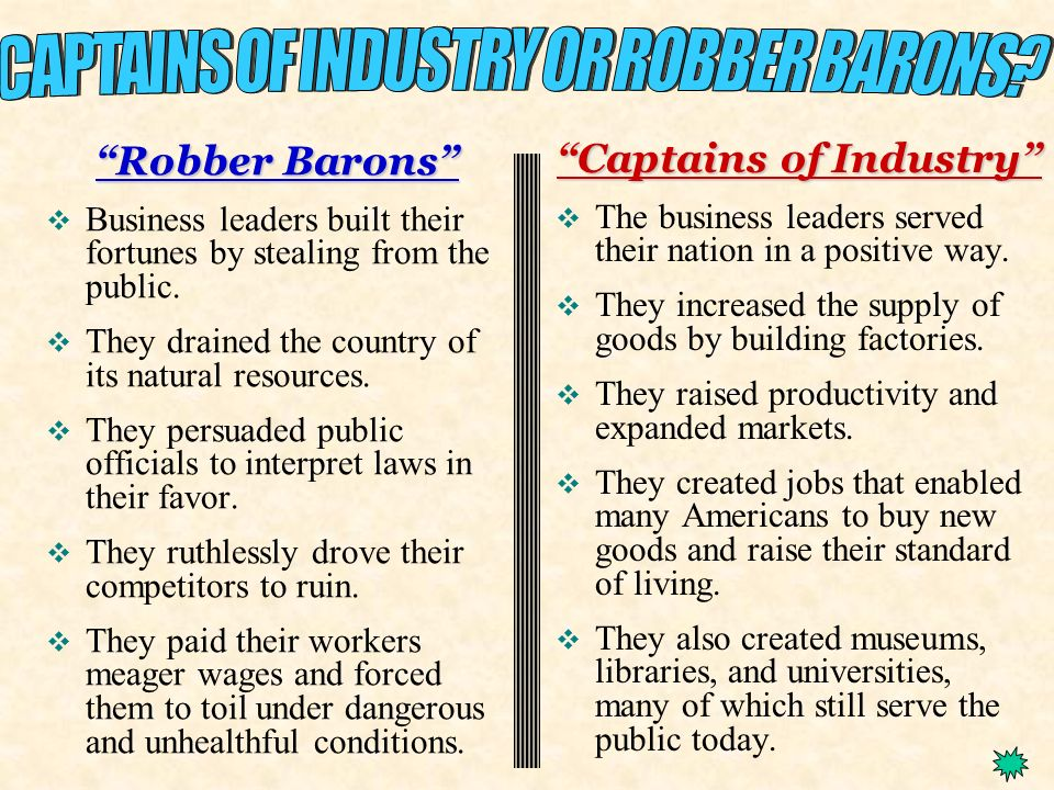Captains of Industry