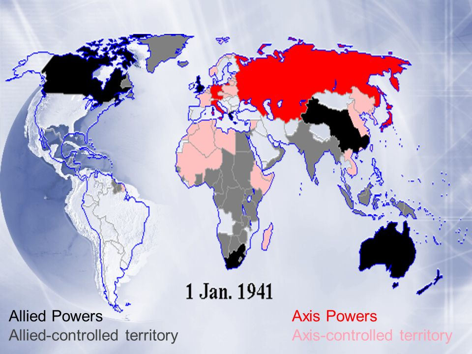 Allied Powers Axis Powers