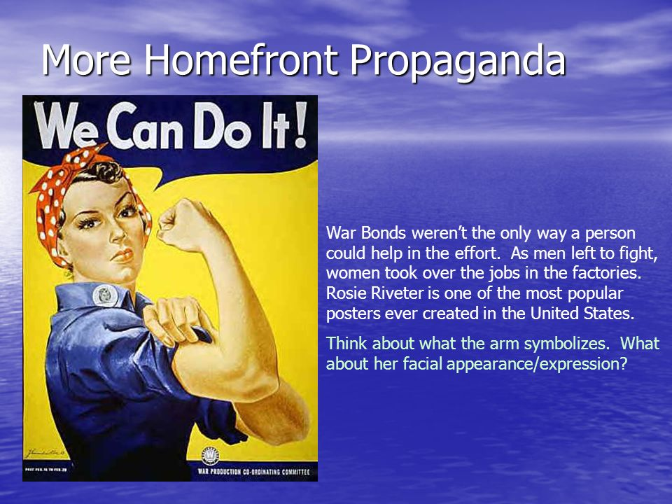 More Homefront Propaganda