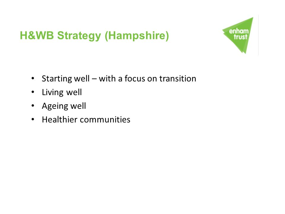 H&WB Strategy (Hampshire)
