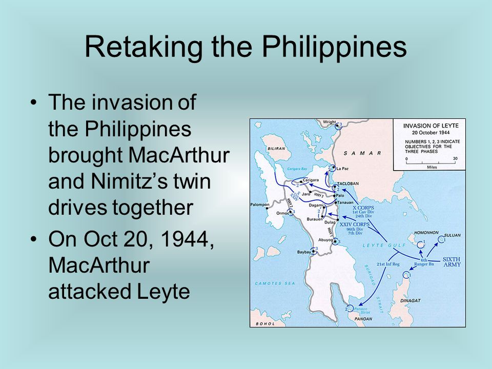 Retaking the Philippines