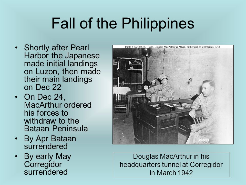 Fall of the Philippines
