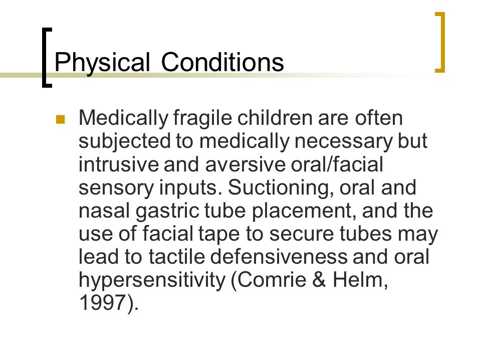 Physical Conditions