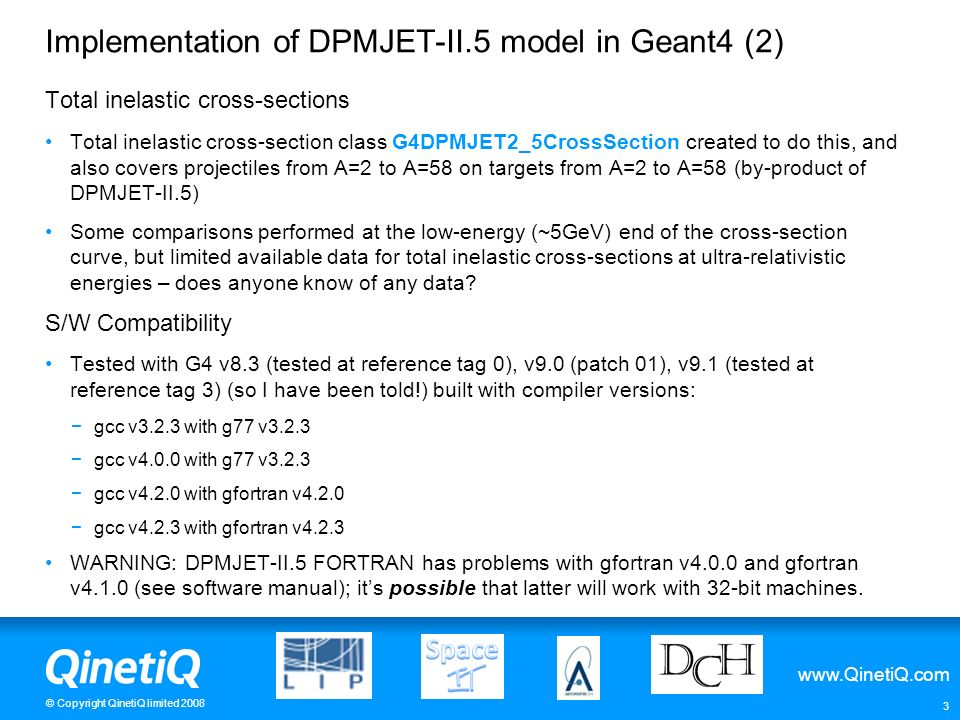 Implementation of DPMJET-II.5 model in Geant4 (2)