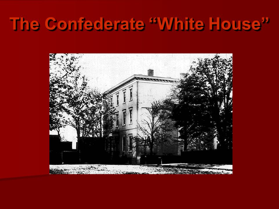 The Confederate White House