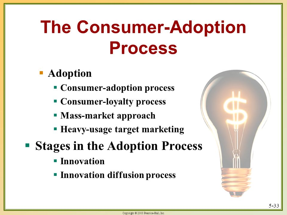 The Consumer-Adoption Process