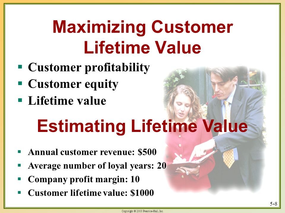 Maximizing Customer Lifetime Value