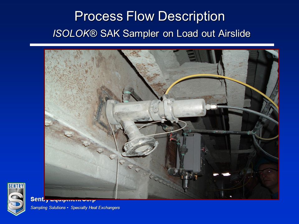 Process Flow Description ISOLOK® SAK Sampler on Load out Airslide