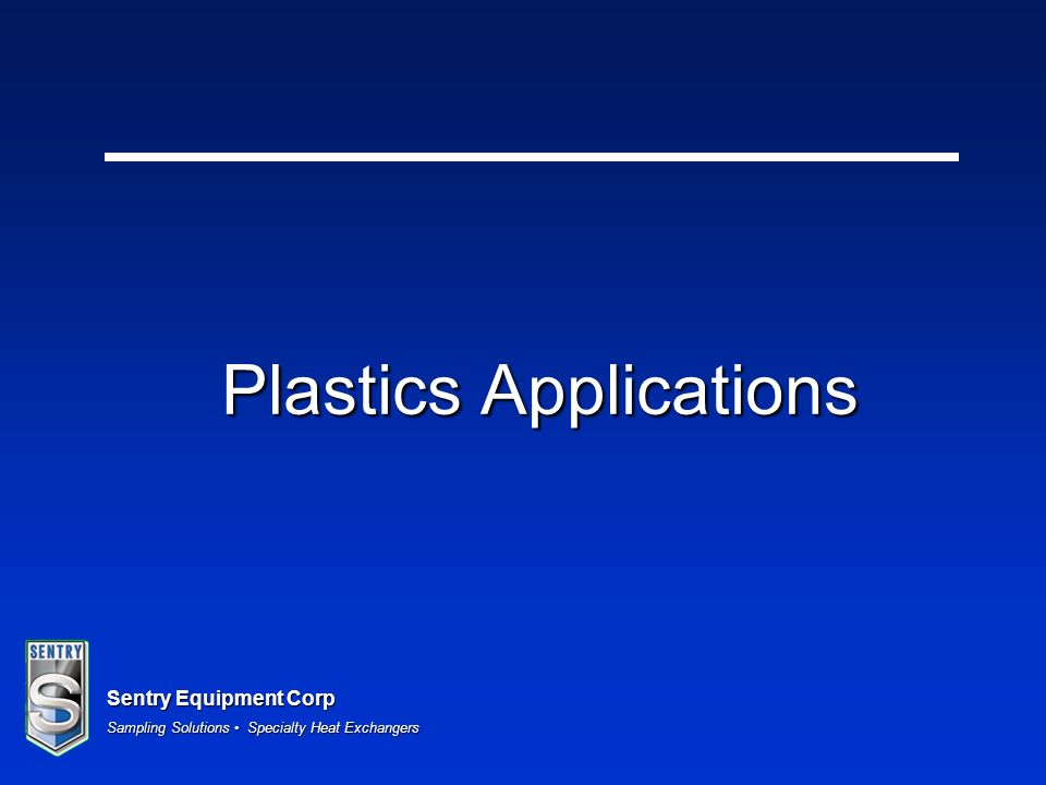Plastics Applications