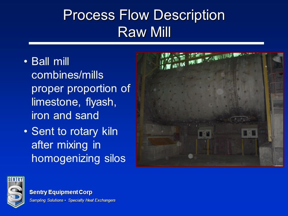 Process Flow Description Raw Mill