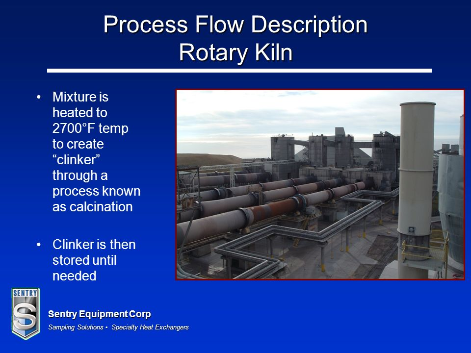 Process Flow Description Rotary Kiln