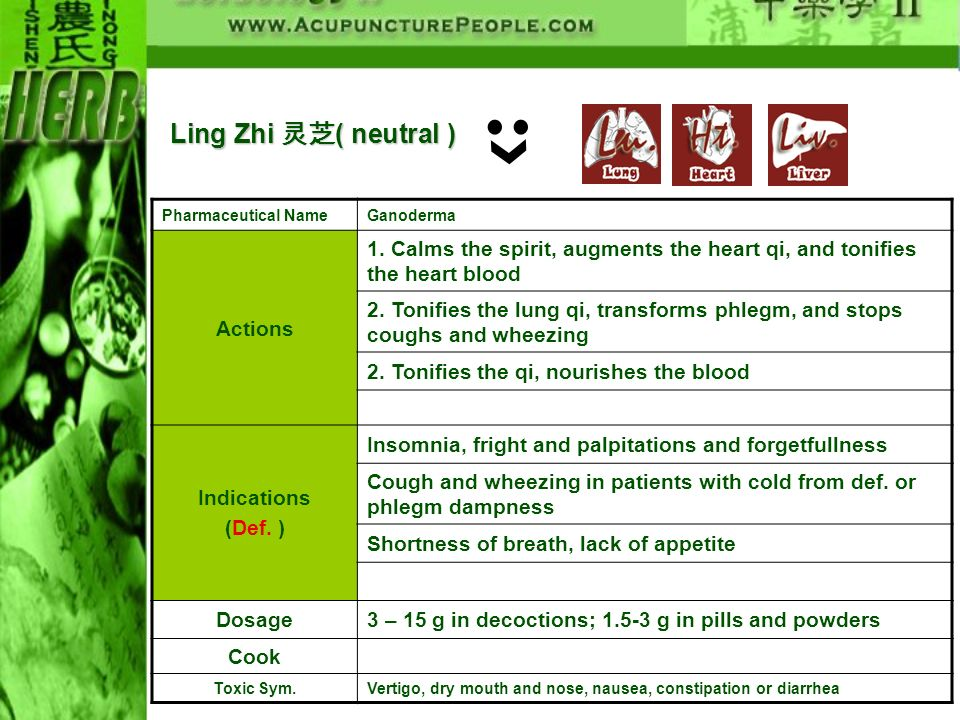 Ling Zhi 灵芝( neutral ) Actions