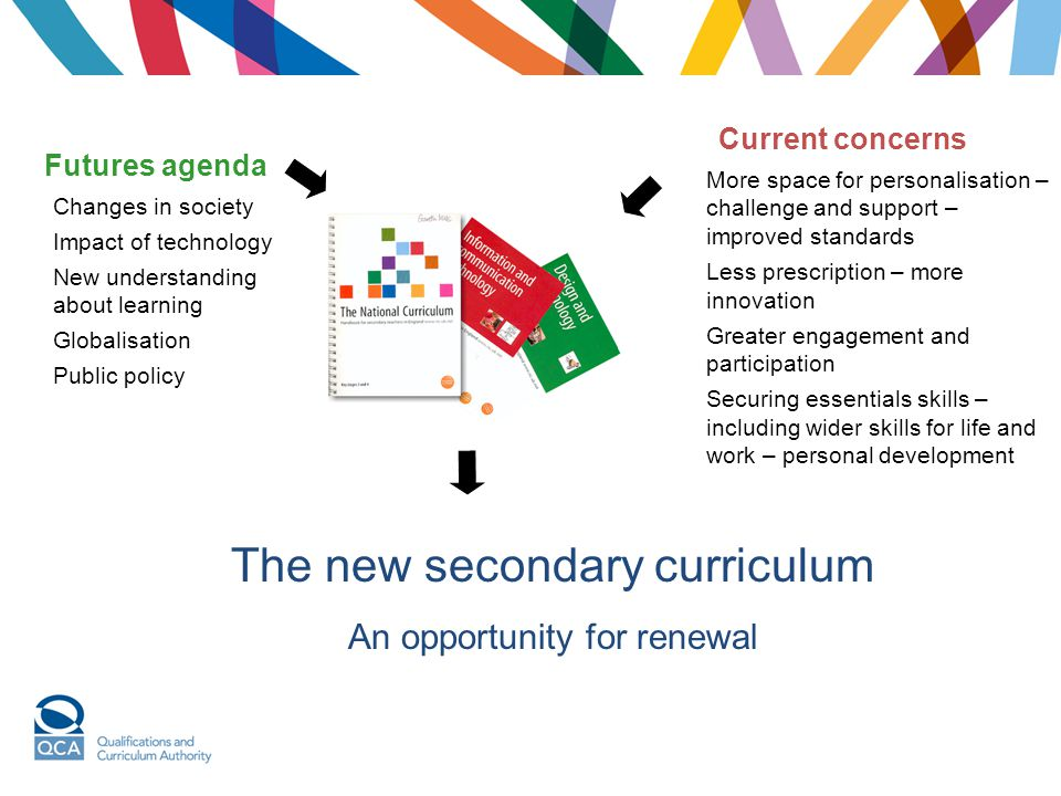 The new secondary curriculum