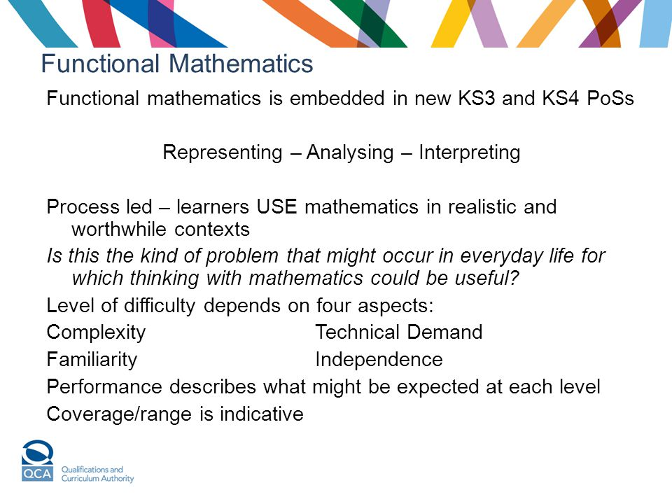 Functional Mathematics