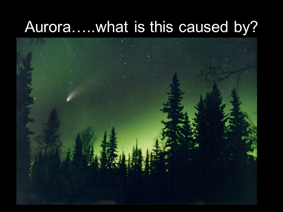 Aurora…..what is this caused by