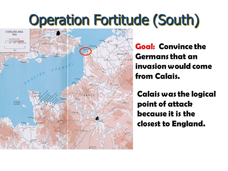 Operation Fortitude (South)