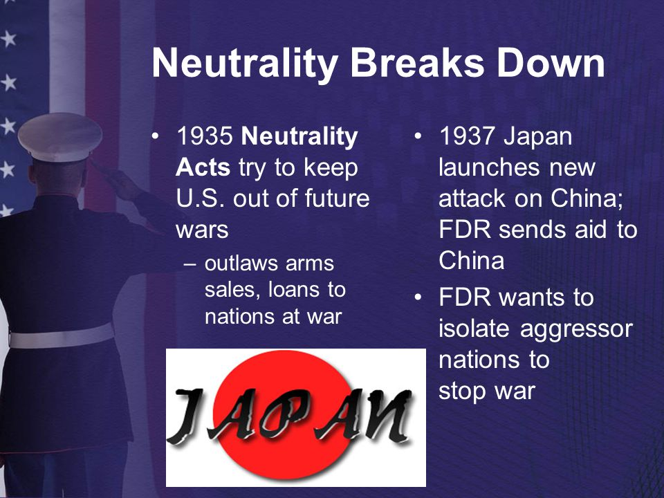 Neutrality Breaks Down