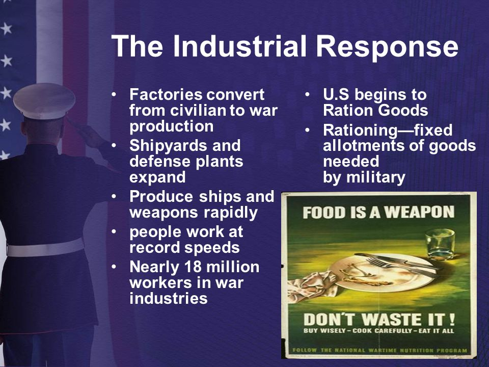 The Industrial Response