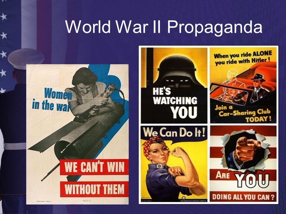 World War II Propaganda