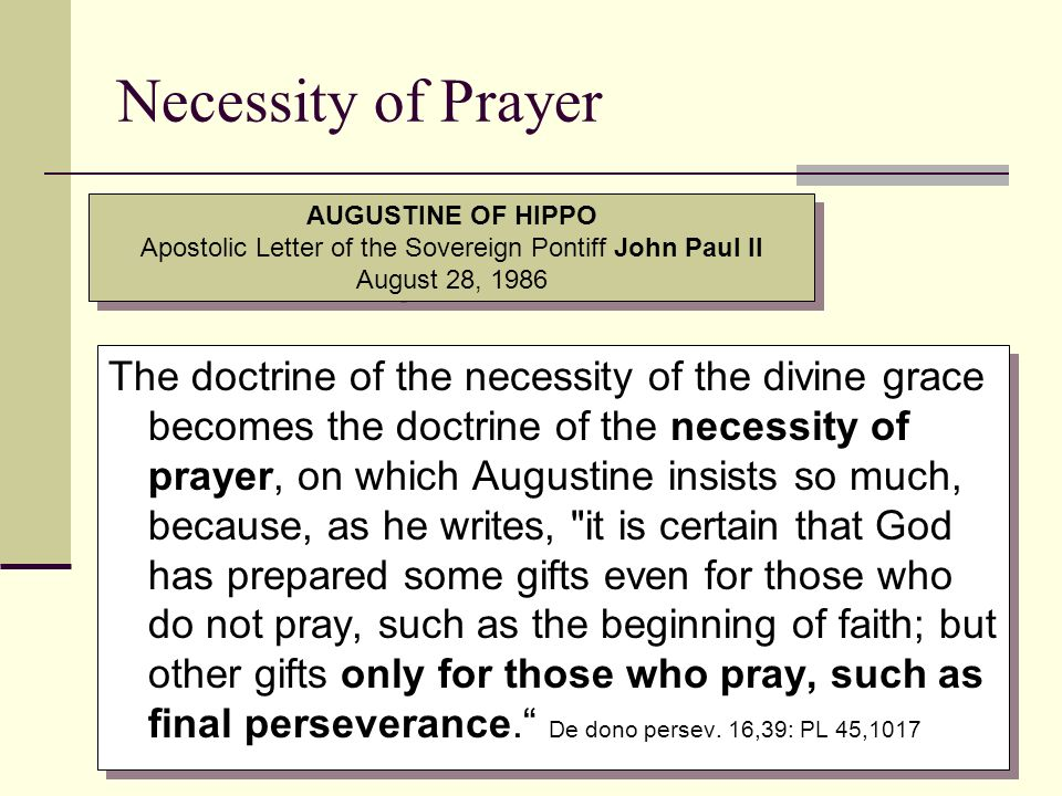 Apostolic Letter of the Sovereign Pontiff John Paul II August 28, 1986