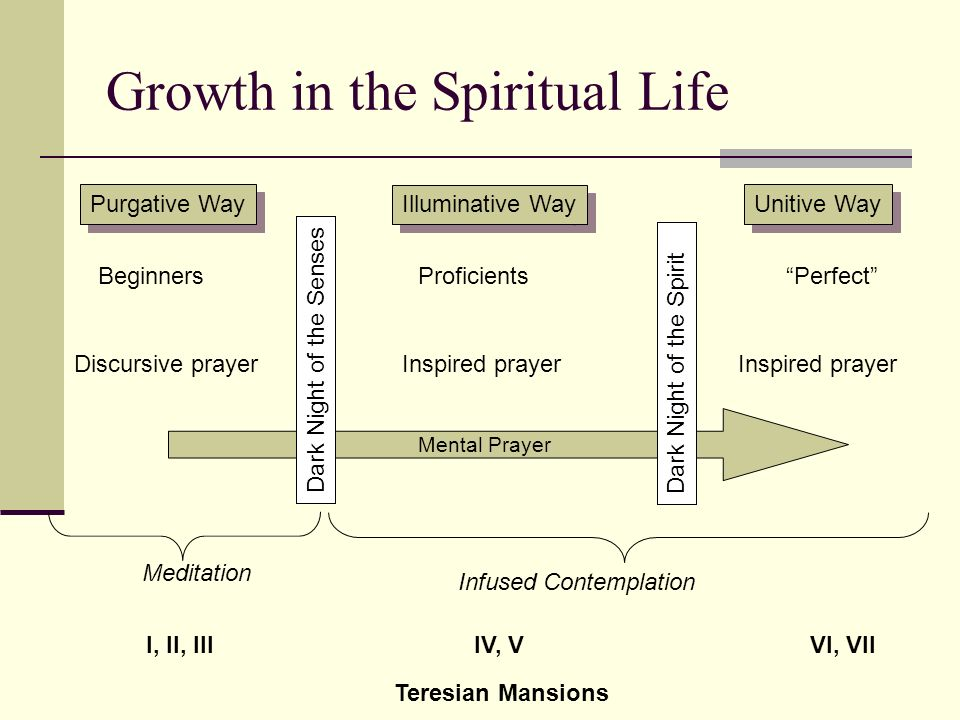 Growth in the Spiritual Life