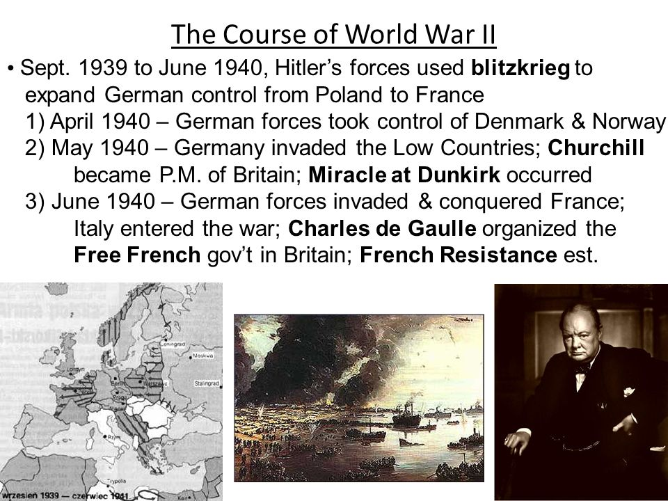 The Course of World War II