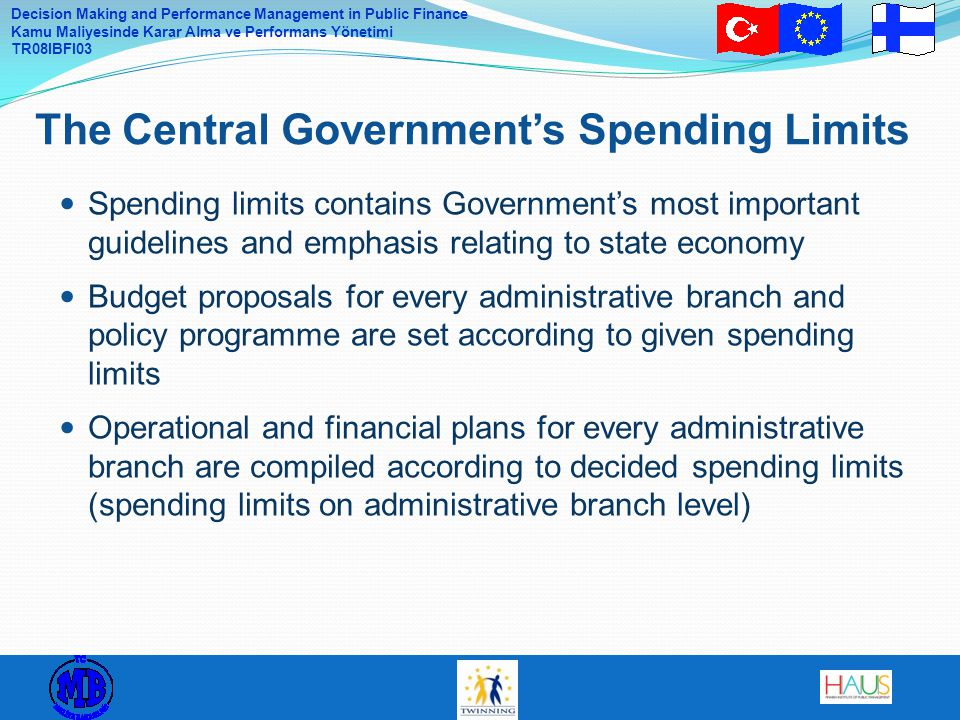 The Central Government's Spending Limits