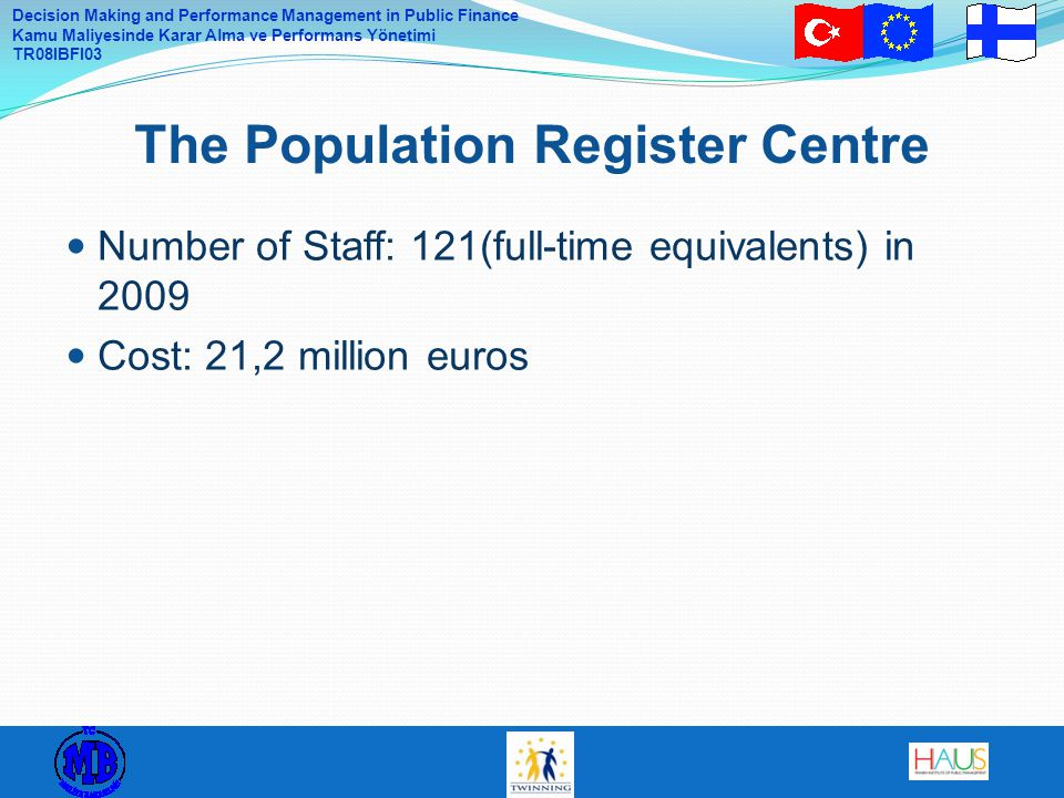 The Population Register Centre
