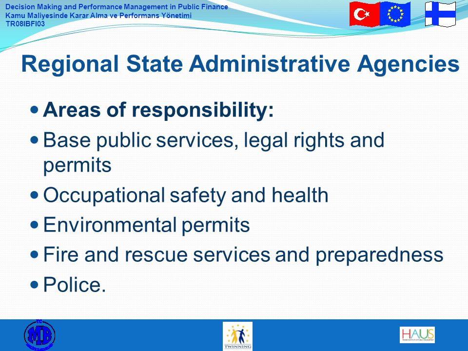 Regional State Administrative Agencies