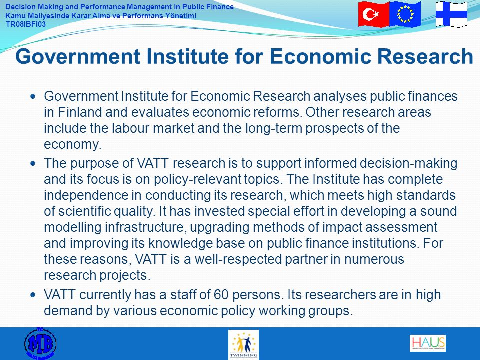 Government Institute for Economic Research