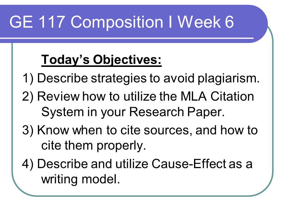 causes of plagiarism pdf