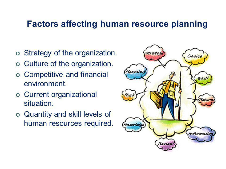 factors affecting workforce planning