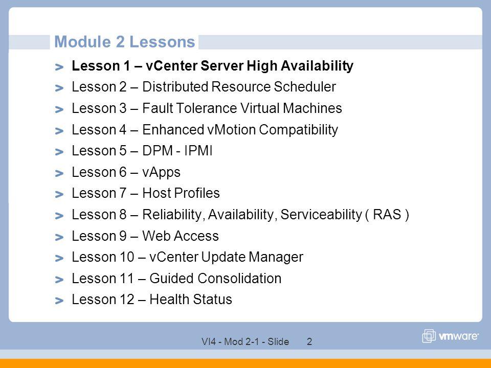 VMware vCenter Server High Availability - ppt download