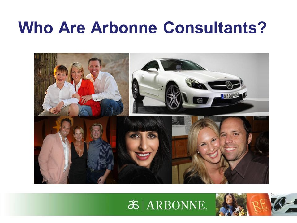 Who Are Arbonne Consultants