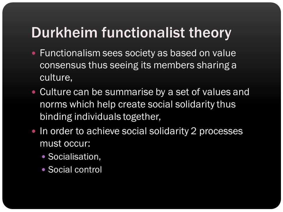 criticism of functionalist theory