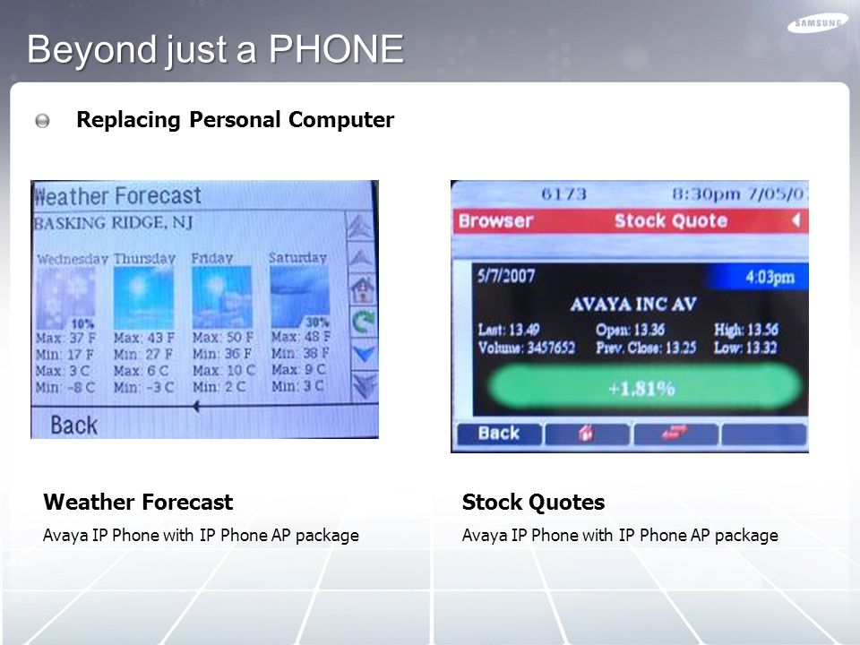 Beyond just a PHONE Replacing Personal Computer Weather Forecast