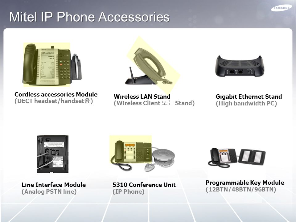 Mitel IP Phone Accessories