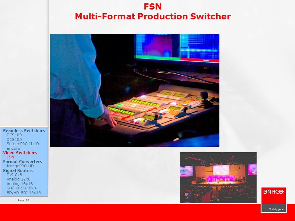 Multi-Format Production Switcher