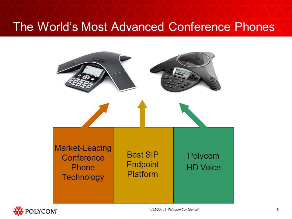 The World's Most Advanced Conference Phones