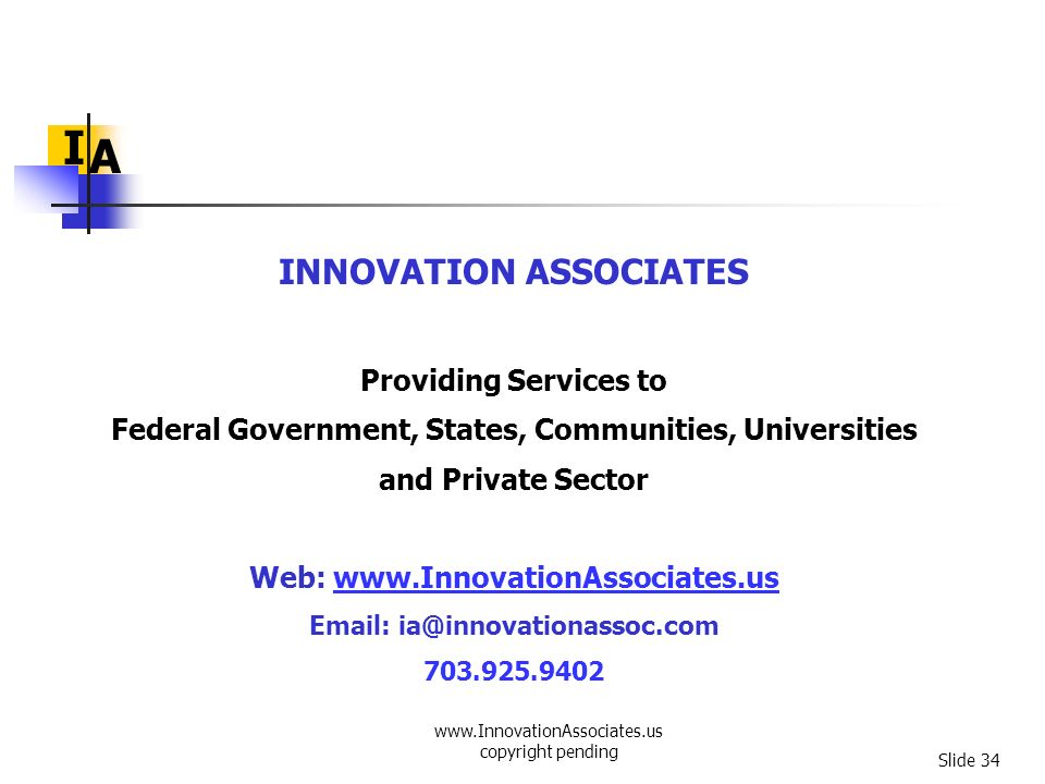 Federal Government, States, Communities, Universities