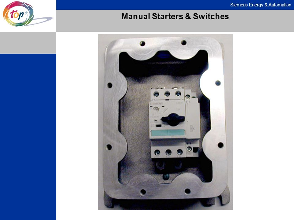Manual Starters & Switches