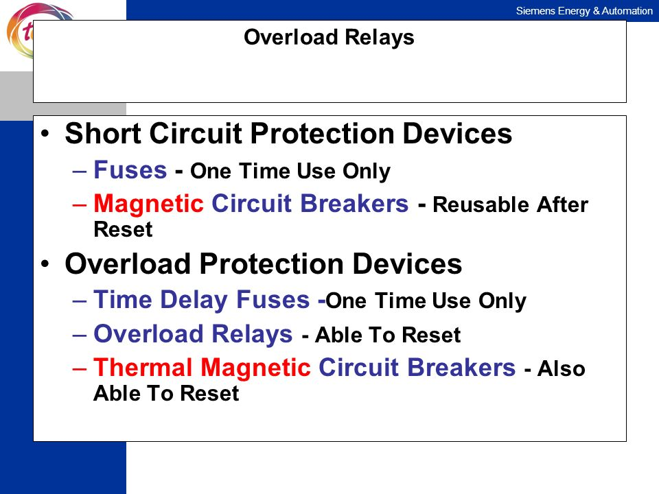 Short Circuit Protection Devices