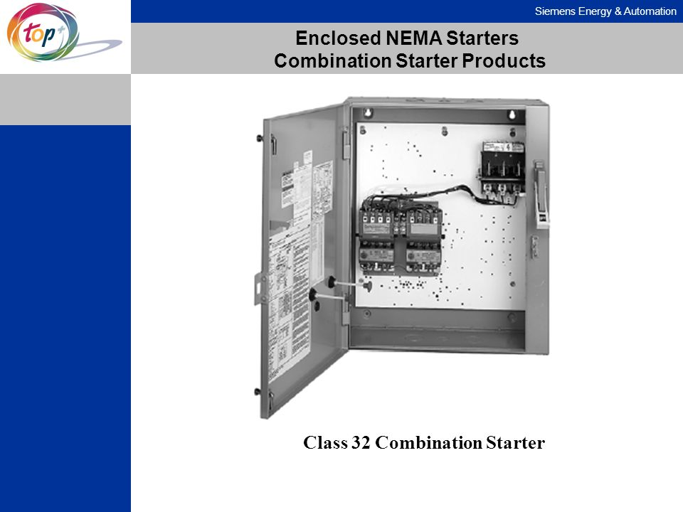 Enclosed NEMA Starters Combination Starter Products