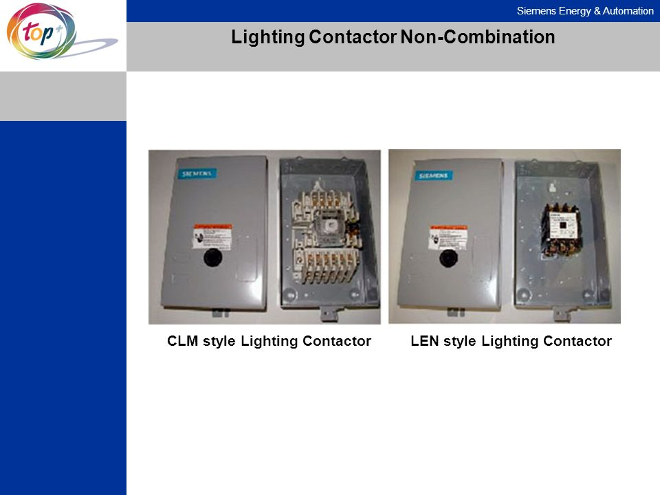Lighting Contactor Non-Combination
